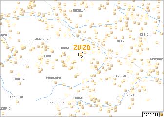 map of Zvizd