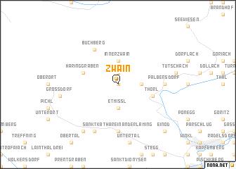 map of Zwain