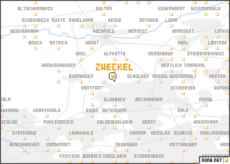 map of Zweckel