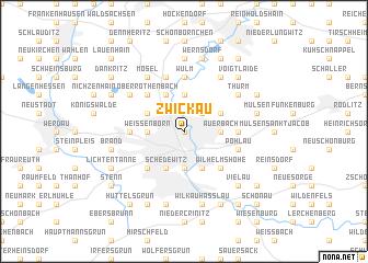 Zwickau Germany map nonanet