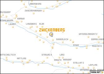 map of Zwickenberg