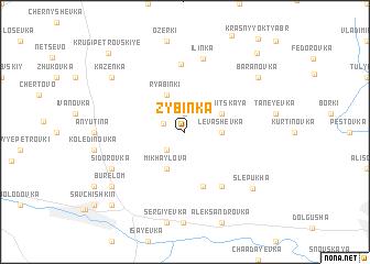map of Zybinka