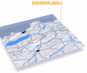 3d view of Douar Ouled Ali