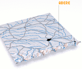 3d view of Abère