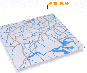 3d view of Somandega