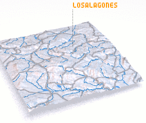 3d view of Los Alagones