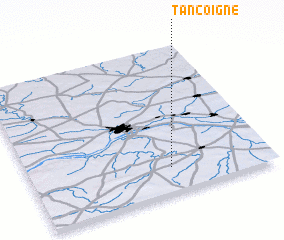 3d view of Tancoigné