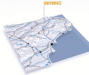 3d view of Gayanes