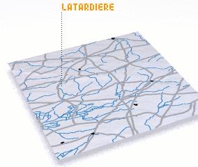 3d view of La Tardière