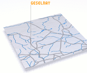 3d view of Géselnay