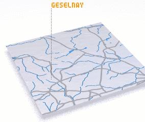 3d view of Géselnay