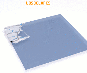 3d view of Los Belones