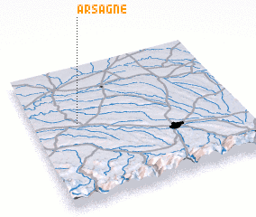 3d view of Arsagne