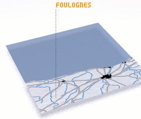 3d view of Foulognes