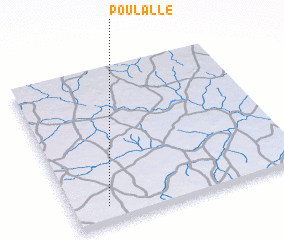 3d view of Poulallé