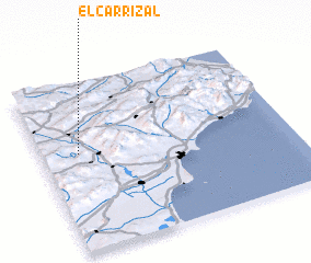3d view of El Carrizal