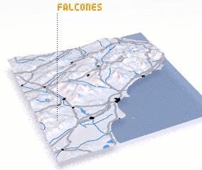 3d view of Falcones