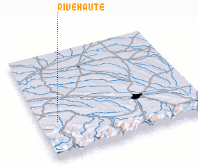 3d view of Rivehaute