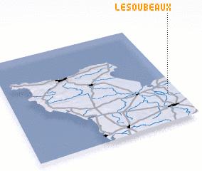 3d view of Les Oubeaux
