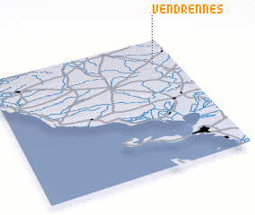 3d view of Vendrennes