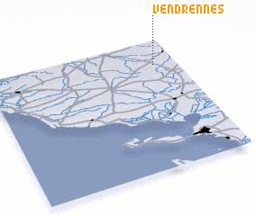 3d view of Vendrennes
