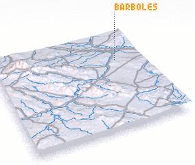 3d view of Bárboles