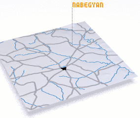 3d view of Nabégyan