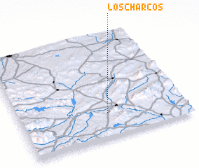 3d view of Los Charcos