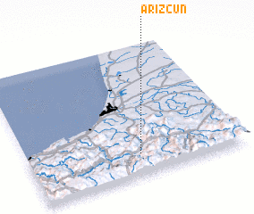 3d view of Arizcun