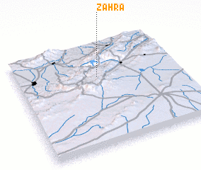 3d view of Zahra