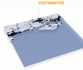 3d view of Southampton