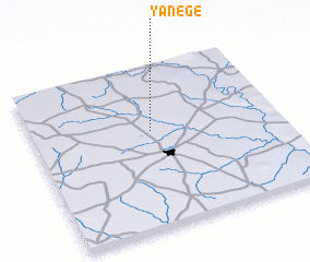 3d view of Yanégé