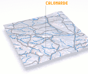 3d view of Calomarde