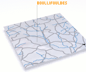 3d view of Boulli Foulbés