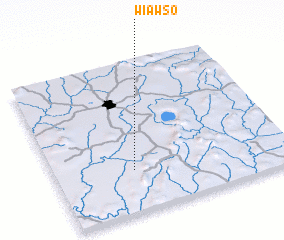 3d view of Wiawso