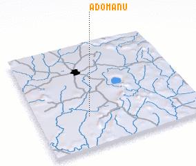 3d view of Adomanu