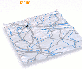 3d view of Izcue