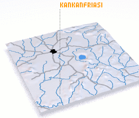 3d view of Kankanfriasi