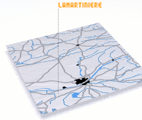 3d view of La Martinière