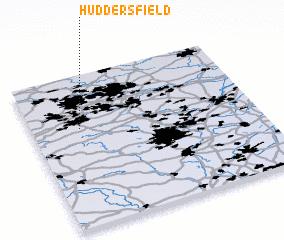 3d view of Huddersfield