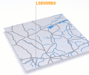 3d view of Loroumdo