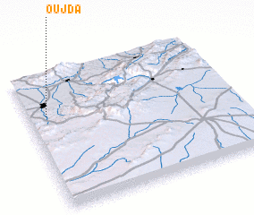 3d view of Oujda