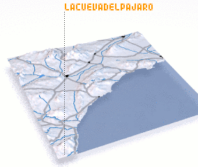 3d view of La Cueva del Pájaro