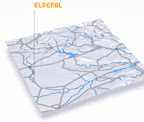 3d view of El Peral