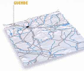 3d view of Guembe