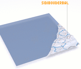 3d view of Sidi Bouderbal