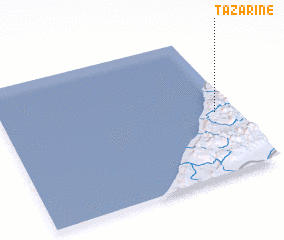 3d view of Tazarine