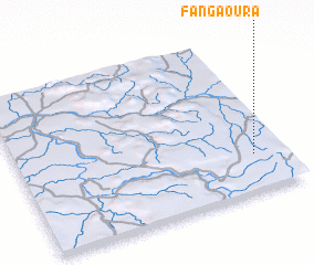 3d view of Fangaoura