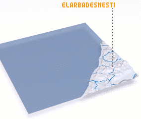 3d view of El Arba des Mesti