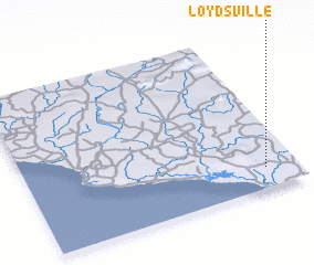 3d view of Loydsville
